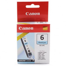 Canon BCI-6 Photo Cyan Genuine Cartridge